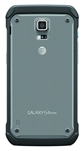 Samsung Galaxy S5 Active, Titanium Gray 16GB (AT&T) 4 Display: 5.1-inches Camera: 16-MP Processor Speed: 2.5 GHz