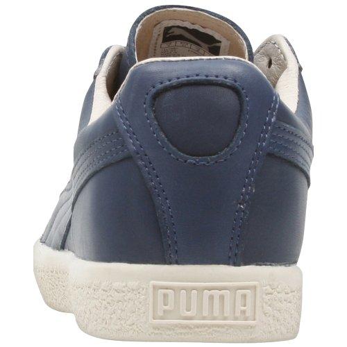 Puma Heren Clyde Luxe Insignia Blauw 352814-04 Blauw