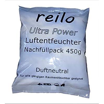 10x 450g Ultrapower Luftentfeuchter Raumentfeuchter Granulat (Calciumchlorid) im Vliesbeutel, Nachfüllpack - zum…