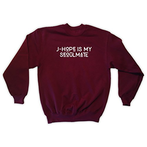 Bordeaux Da hope J Outsider Unisex Felpa Seoulmate Is My Uomo RYzpSqUW