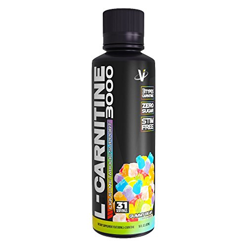 VMI Sports L-Carnitine 3000 Liquid Metabolic Enhancer, Gummy