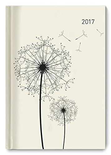 Buchkalender Blowballs 2017 - Bürokalender A5 Motiv - 1 Tag 1 Seite - 352 Seiten
