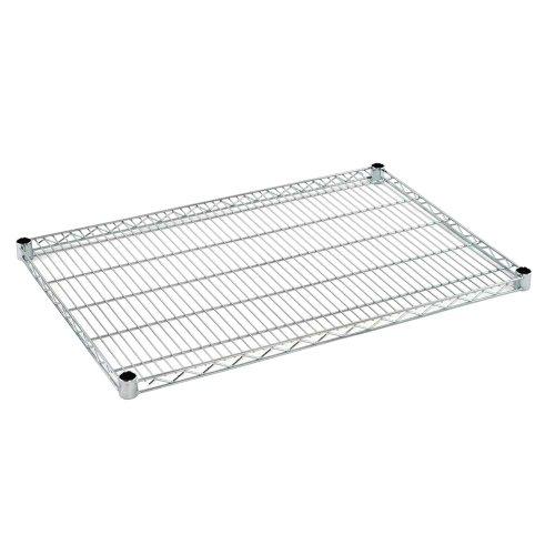 C Extra shelf for Chrome Wire Shelving, 800 lb. Load Capacity, 1