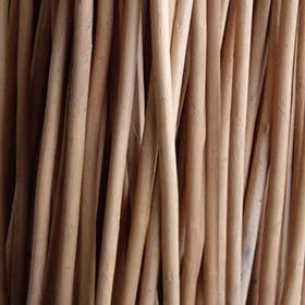 MGP Classic Mahogany Skinless Willow Stick Bundle 20 Pcs Bundle 36