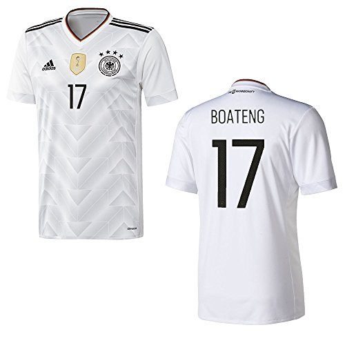 adidas DFB DEUTSCHLAND Trikot Home Herren 2016 / 2017 - BOATENG 17, Größe:XL