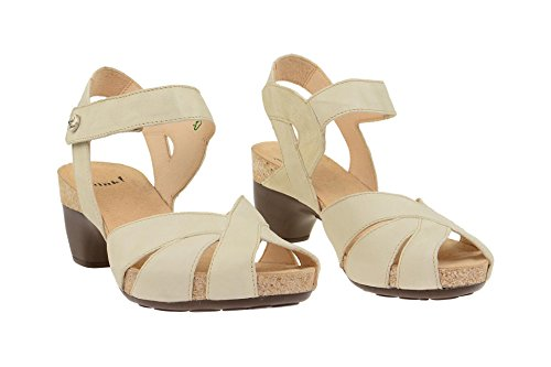 Think! 0-80574-28 - Sandalias de vestir de Piel para mujer Weiß