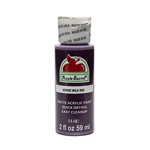 Apple Barrel Acrylic Paint in Assorted Colors (2 oz), 20593, Wild Iris ()