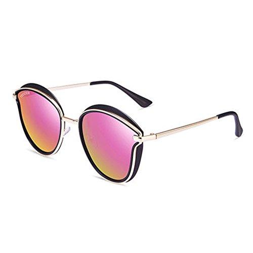 en nouvelles de soleil de soleil polarisées lunettes ronde plein rétro Mme airC lunettes de de voyage lunettes cadre lunettes soleil 8gntqT