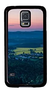Rosesea Custom Personalized Forest hinterland PC case Cover for Samsung S5 and Samsung Galaxy S5