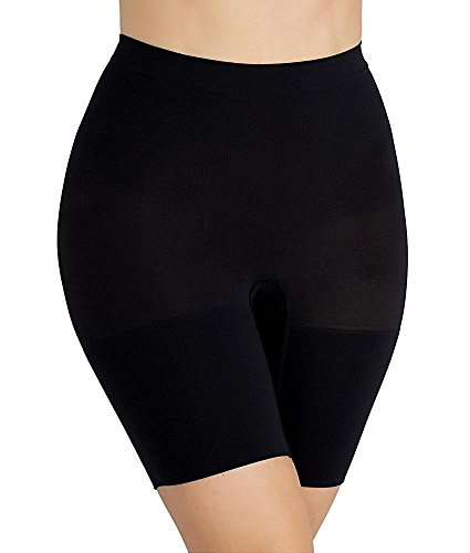 SPANX Power Series Medium Control Shorts, 2X, Black