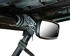 TOOL-FREE MICRO ADJUSTMENTDesigned with different sized users in mind, the Clearview UTV Center Mirror allows you to quickly and easily micro adjust the mirror for perfect mirror orientation, no matter how large or small the driver is!UNIVERS...