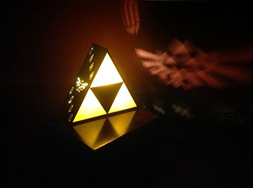 Nice Zelda Triforce Lamp