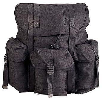 Amazon.com  Military Style Mini Alice Pack Black Pack  Clothing aa89d91e535