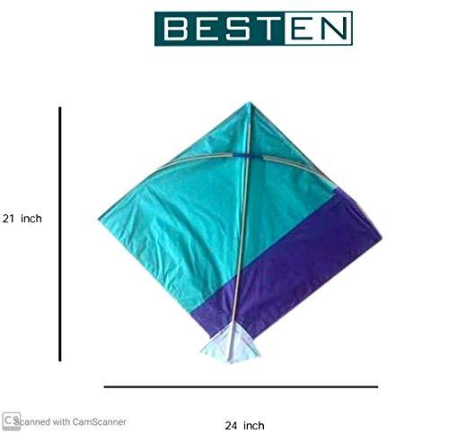 shopping hub Paper Kite Medium Size 25*27 inch ,Multi Colour, Pack of 20, Colour Indian Fighter Cheel Kite (B07Y7KKC1P) Amazon Price History, Amazon Price Tracker