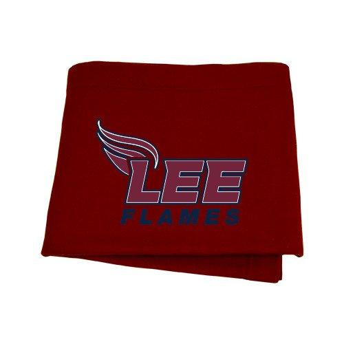 CollegeFanGear Lee University Maroon Sweatshirt Blanket 'Official Logo' by CollegeFanGear