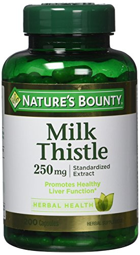 Natures Bounty Milk Thistle Capsules