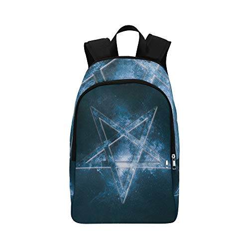 d7e5cc26576f Backpack Shoulder Bag Magic Pentagon with Angles for Men Women Boy Bookbag  Lightweight Bookbags Waterproof College Vacation for Staff