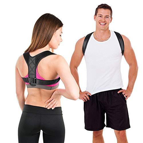 Posture Corrector for Women Men – Effective Comfortable Adjustable Posture Corrector – Back Brace