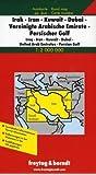 Irak, Iran, Kuwait, Dubai, VAE, Persischer Golf  1 : 2 000 000. Autokarte mit Ortsregister (Road Maps)