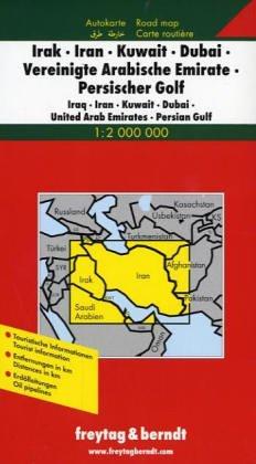 Iraq-Iran-Kuwait-Dubai-United Arab Emirates (Road Maps) (English, French, Italian and German Edition) PDF