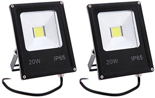 PACK 2 FOCOS PROYECTORES LED 20W Blanco Frío: Amazon.es: Bricolaje ...