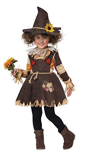 Pumpkin Patch Princess Costumes (California Costumes Pumpkin Patch Scarecrow Toddler Costume-Large (4-6))