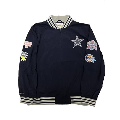 best service d4a5b 8b419 Mitchell & Ness Dallas Cowboys Bomber Jacket [5WarK1113464 ...