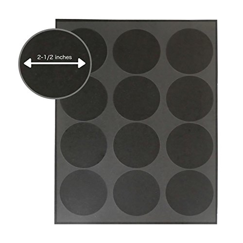 Iconikal Chalkboard Labels Circle 120 Count product image