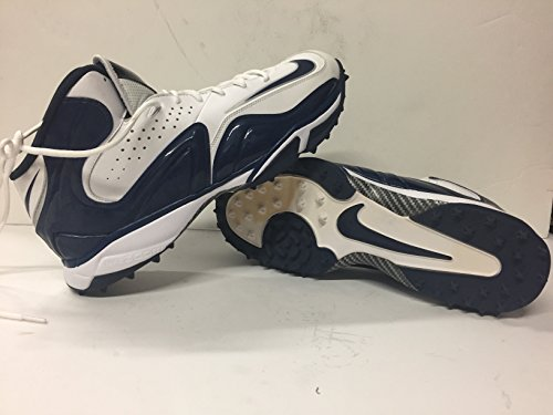 Dallas Cowboys Player Issued NIKE Merciless Lineman Cleats Size 16 Shoes 2013 DeMarcus Ware Collection