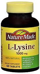 Nature Made L-Lysine 1000mg