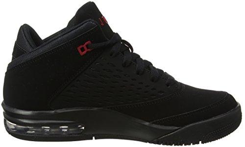 Nike Jungen Jordan Flight Orgin 4 (GS) Basketballschuhe Schwarz (Black G Y M Red 002)