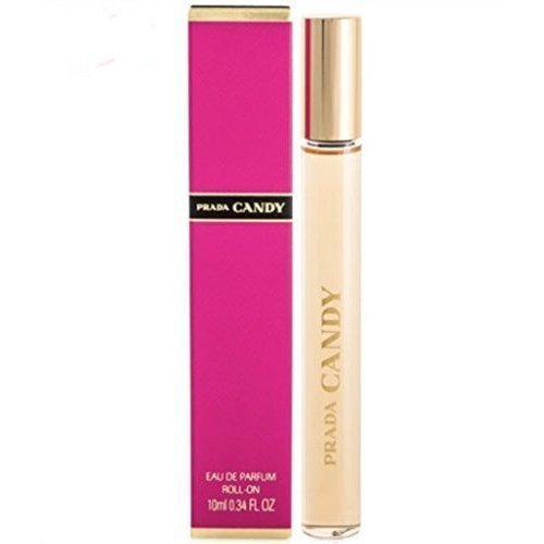 Prada Candy Rollerball Roll on Eau De Parfum .34 Oz/10 Ml
