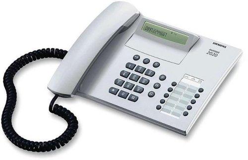 Siemens Euroset 2020 Clip artikgrau schnurgebundenes Telefon
