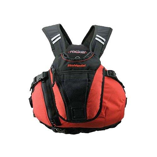 Stohlquist Rocker Personal Floatation Device, Fireball Red, Small/Medium