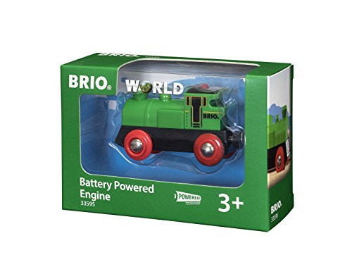 Battery Powered Train Thomas Engine (BRIO Battery Powered Engine Train)