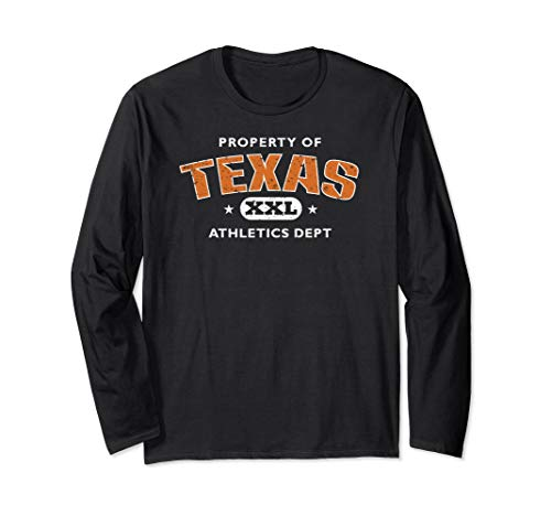 Property of Texas Athletics Dept XXL Long Sleeve ()