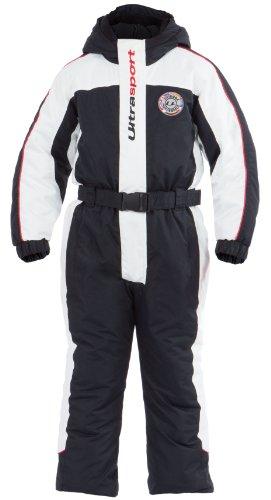 Ultrasport Kinder Schneeanzug Lech, weiß/schwarz/rot, 110/116, 10361