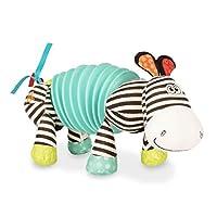 B. Toys - Musical Accordion Zebra Plush - Sensory Toy - Non-Toxic