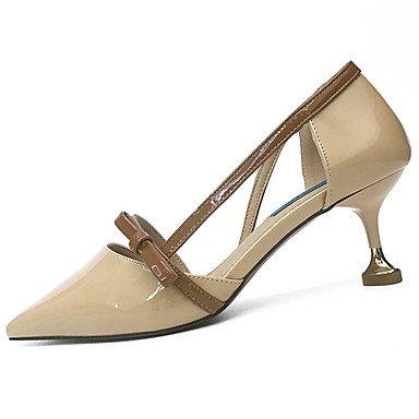 Las mujeres 039 s sandalias Slingback verano PU Casual Tacón cuña hebilla WalkingChampagneUS8 UE39 UK6 CN39 US6.5-7 / EU37 / UK4.5-5 / CN37