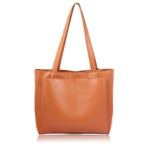 women marks Women's Tan PU Handbag