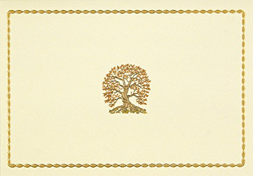 Tree of Life Note Cards (Stationery) (Note Card Series) (Note Stationery Cream)