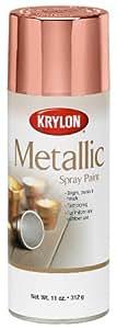 Krylon K02203 General Purpose Metallic, Copper, Gloss, 12 ounce