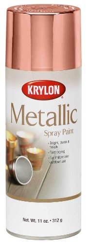 Krylon K02203 General Purpose Metallic, Copper, Gloss, 12 ounce