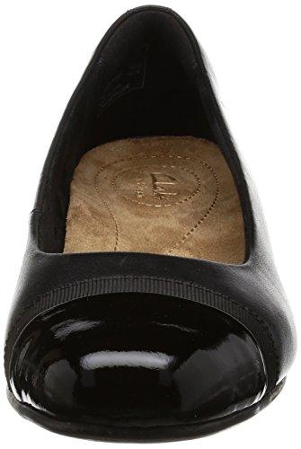 Womens Rosa Casual Keesha Clarks Black Shoes 01nzqxp