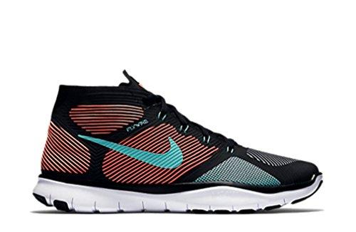 Nike Gratis Trein Instinct De Loopschoenen Zwart / Hyper Turquoise-bright Mango-wit