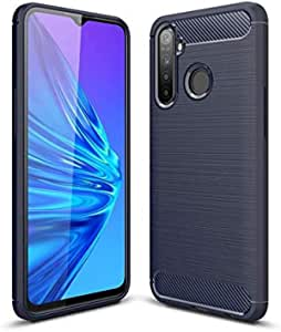 Case for Oppo Realme 5 Pro,Shockproof Bumper Rugged Armor Slim Protection Flexible TPU Case