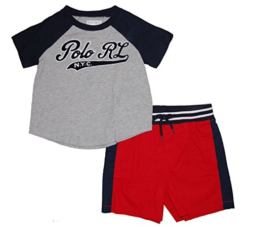 - Ralph Lauren Polo Baby Boys Baseball Tee & Shorts Set (3 Months)
