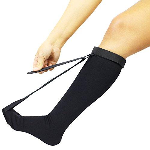 Vive Plantar Fasciitis Stretch Sock - Non Slip Calf Night Relief for Heel