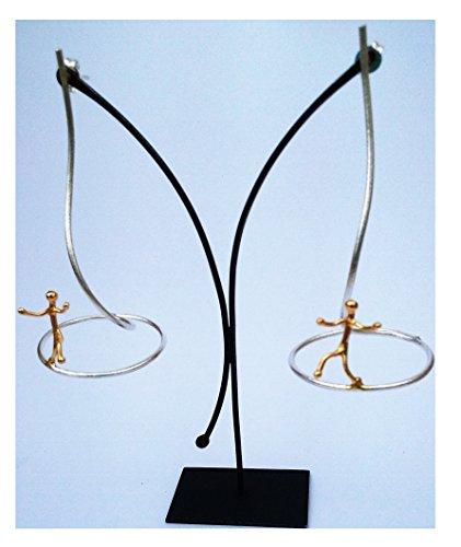 handmade-acrobat-circle-sterling-silver-925-earrings
