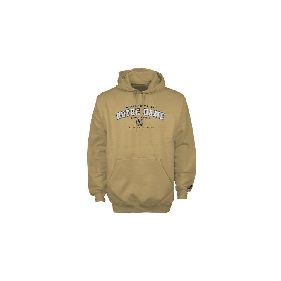 Adidas Notre Dame Fighting Irish Gold Ambush Hoody Sweatshirt
